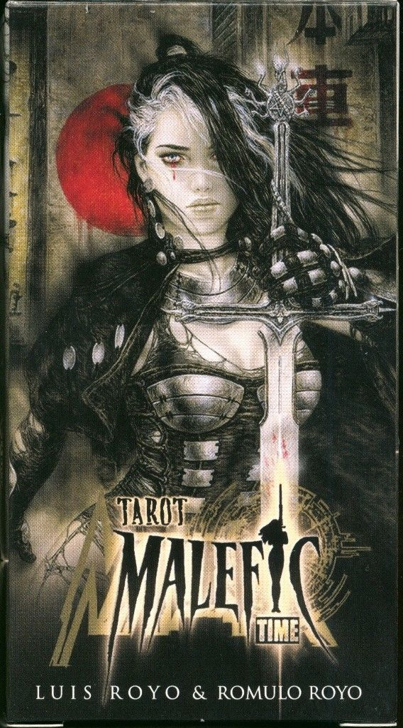 Malefic Tarot by Luis Royo